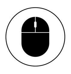 computer mouse icon simple 96x96 pictogram vector image