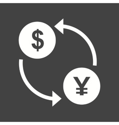 Dollar to Yen Convert vector