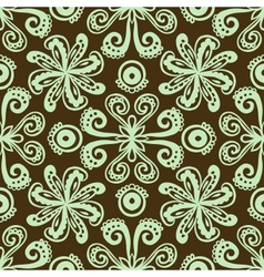 modern stylization indian ornament vector image