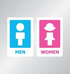Restroom Sign vector