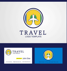 Travel saint vincent and grenadines creative vector