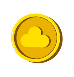 virtual money currency vector image