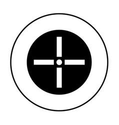 cursor control icon simple 96x96 pictogram vector image