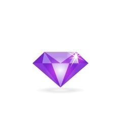Diamond icon isolated logo concept of vector image