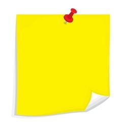 Sticky note1 resize vector image