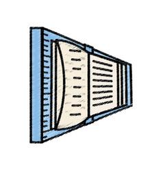 book read learn image sketch vector image