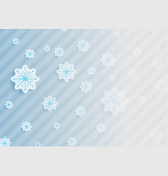 abstract grey blue christmas background vector image