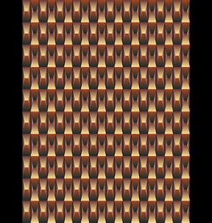 Brown texture geometric seamless background vector image