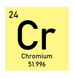 chromium element icon vector image