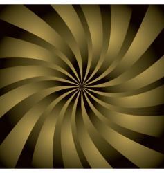 Golden twist vector