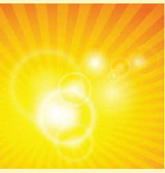 lens flare spiral background vector image