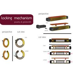 Locking mechanism vector