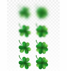 Saint patricks day happy clover eps 10 vector