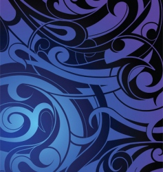 tattoo background vector image