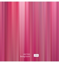 Abstract Pink Striped and Blurred Background vector image vector image