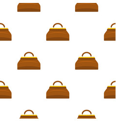 Carpetbag pattern seamless vector