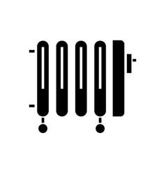 radiator - oil heater icon vector image