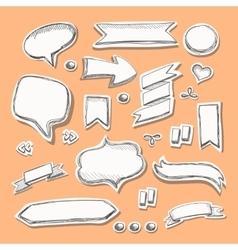 Hand drawn sketch vector image vector image