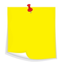 Sticky note4 resize vector image vector image