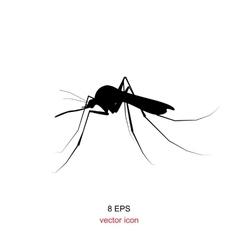 Mosquito icon isolated vector