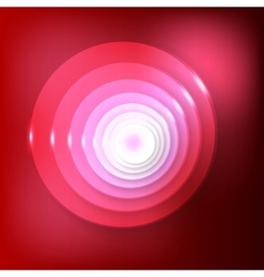 abstract background Red Circles vector image