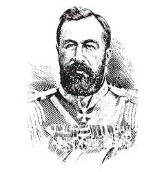 Alexei n kuropatkin vintage vector