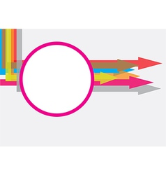 arrow texture concept vector image