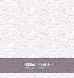 Clean decorative pattern vector