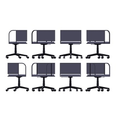 Office spinning chair vector image