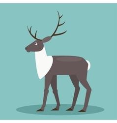 Reindeer Flat vector