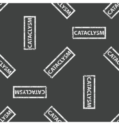 Rubber stamp CATACLYSM pattern vector