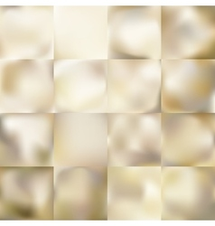 Set of Light gold background EPS 10 vector