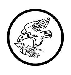 Symbol american samoa icon - iconic design vector