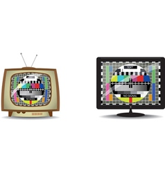 Television static vector