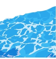 Water surface background caustic texture vector