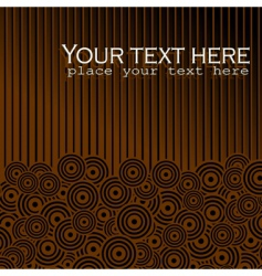 background chocolate vector image vector image