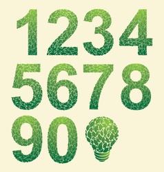 Leaf Number vector image