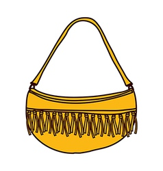 A view of bag vector image