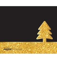Creative christmas tree art vector