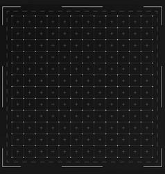 Hud grid interface vector