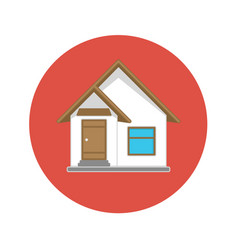 icon house vector image
