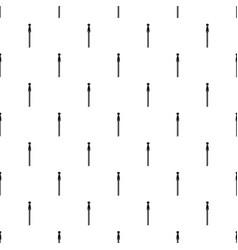 steel zip pattern seamless vector image