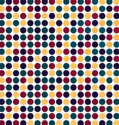 Bright Colorful Dots Pattern Background vector image vector image