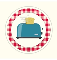 Kitchen toaster vector image vector image