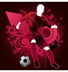 sports man vector image vector image
