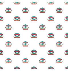 Carousel pattern seamless vector