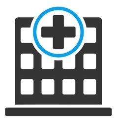Clinic Building Icon vector image