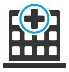 Clinic Building Icon vector
