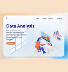 Data analysis isometric vector