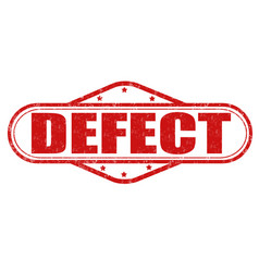 Defect grunge stamp vector